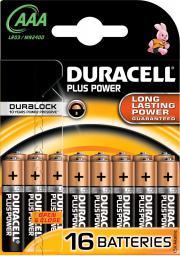 Duracell Bateria Plus Power AAA / R03 16szt.