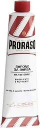 Proraso Proraso Red Mydło do golenia twardego zarostu w wygodnej tubce 150 ml