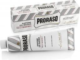 Proraso Proraso White Mydło do golenia w wygodnej tubce dedykowane skórze wrażliwej 150 ml