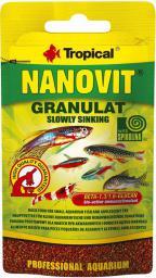 Tropical NANOVIT GRANULAT TOREBKA 10G