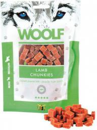 Brit WOOLF 100g LAMB CHUNKIES
