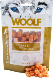 Brit WOOLF 100g RABBIT CHUNKIES
