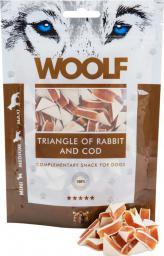 Brit WOOLF 100g RABBIT TRIANGLE COD
