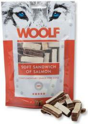 Brit WOOLF przys.PIES 100g SOFT SANDWICH SALM