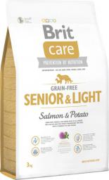Brit Care Grain-free Senior&Light Salmon & Potato - 3 kg