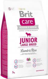 Brit Care Junior Large Breed Lamb & Rice - 3 kg