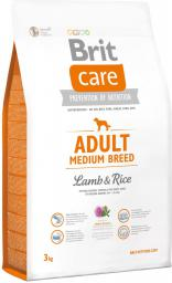 Brit Care Adult Medium Breed Lamb & Rice - 3 kg