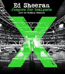 POP SHEERAN, ED JUMPERS FOR GOALPOSTS LIVE AT WEMBLEY STADIUM