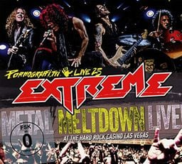ROCK EXTREME PORNOGRAFFITTI LIVE 25 / METAL MELTDOWN (CD+BLU-RAY)