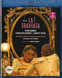 CLASSICAL DAMRAU, DIANA/ORCHESTRE ET CHOEUR DE L'OPERA NATIONAL DE PARIS/FRANCESCO IVAN CIAMPA. STAGING: BENOIT JACQUOT VERDI: LA TRAVIATA (BLU-RAY) OPERA NATIONAL DE PARIS / BASTILLE