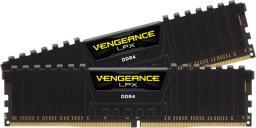 Pamięć Corsair Vengeance LPX, DDR4, 16 GB,2666MHz, CL16 (CMK16GX4M2Z2666C16)