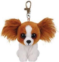 Breloczek TY Beanie Babies Barks - Brązowy Pies (231623)