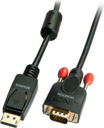 Kabel LINDY DisplayPort D-Sub (VGA), 2, Czarny (41942)