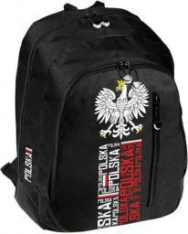 Starpak Plecak szkolny STK-40 czarny (380146)
