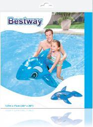 Bestway Wieloryb nadmuchiwany niebieski 117x71cm