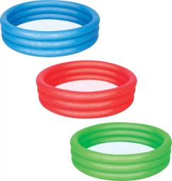 Bestway Basen nadmuchiwany 3 pierścienie 122x25cm