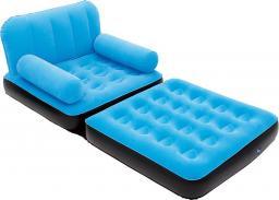 Bestway Fotel-materac flokowany z oparciami 191x97x64cm -3 kolory