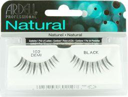 Ardell Ardell Natural Lashes 102 Demi Black Sztuczne rzęsy na pasku - 0000039966