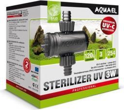 AQUAEL  Oświetlenie i sterylizatory UV AQUAEL LAMPA UV 3W UV-C