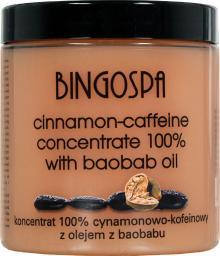 BingoSpa Koncentrat 100% cynamonowo-kofeinowy z olejkiem baobabu 250g (0000047896)