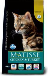 FARMINA PET FOODS Matisse - Kurczak i indyk 400g