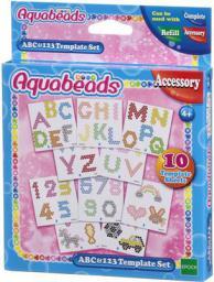 Epoch Aquabeads Szablony ABC i 123 (232296)