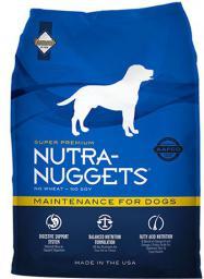 DIAMOND PET FOODS Nutra Dog Maintenance Niebieska 15 kg