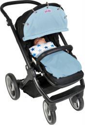 Xplorys Osłonka do wózka i fotelika Dooky - Baby Blue