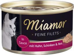 FINNERN Miamor Feine Filets puszka Kurczak i szynka - 100g