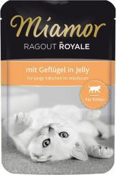 FINNERN Miamor Ragout Royale saszetka Kitten Kurczak w galaretce - 100g