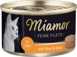 FINNERN Miamor Feine Filets puszka Tyńczyk i ser - 100g