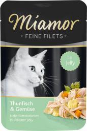 FINNERN Miamor Feine Filets saszetka Tyńczyk i warzywa - 100g
