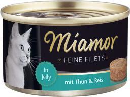 FINNERN Miamor Feine Filets puszka Tuńczyk i ryż - 100g