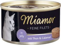 FINNERN Miamor Feine Filets puszka Tyńczyk i kalmary - 100g