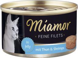 FINNERN Miamor Feine Filets puszka Tuńczyk i krewetki - 100g