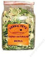 HERBAL PETS CHIPSY BROKUŁ 50g
