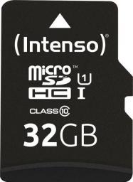 Karta Intenso Professional MicroSDHC 32 GB Class 10 UHS-I/U1  (3433480)