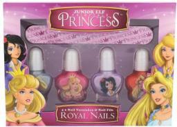 Royal Nails Kit Zestaw  Lakier do paznokci 4 x 4 ml + Pilniczek 1 szt