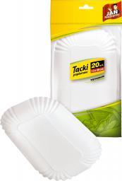 JAN Niezbędny Konfekcja tacki papierowe 20szt. (8571002820)