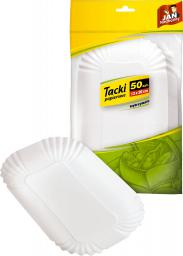 JAN Niezbędny Duża konfekcja tacki papierowe 50szt.  (8571002821)