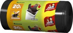 Sarantis Worki HD Easy-pack czarne 20L 40szt. (ZZAJAN148)