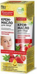"""Fitocosmetics Krem-olejek do twarzy  """"Intensywne odżywianie"""" z olejkiem z dzikiej róży 45ml"""