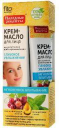 Fitocosmetics Krem-Olejek do twarzy Głębokie nawilżenie z olejem z pestek winogron 45ml