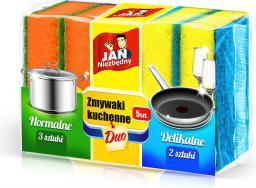 JAN Niezbędny Zmywaki kuchenne Duo 5szt (8571014105)