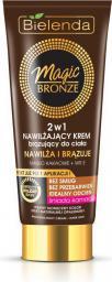 Bielenda Magic Bronze Krem brązujący do ciała 2w1 - karnacja śniada 200ml