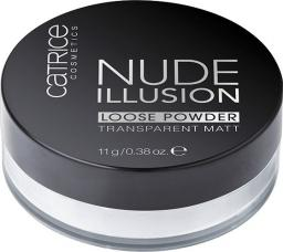 Catrice Nude Illusion Loose Powder puder sypki Transparent Matt 11g