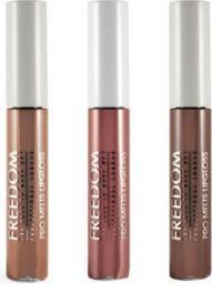 Freedom Pro Melts Naked Collection Zestaw 3 błyszczyków do ust