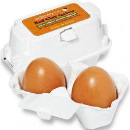 Holika Holika Red Clay Egg Soap mydełka do twarzy 2x50g