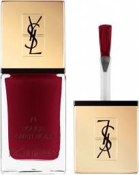 YVES SAINT LAURENT La Laque Couture Nail Laquer lakier do paznokci 74 Rouge Over Night 10ml