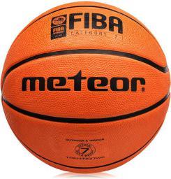 Meteor Piłka Koszowa Treningowa Cellular #7 Brąz 8 Paneli FIBA (07001F)